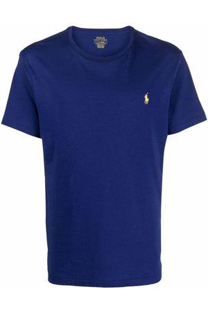 Polo Ralph Lauren Men Short Sleeve - Embroidered-logo short-sleeve T-shirt
