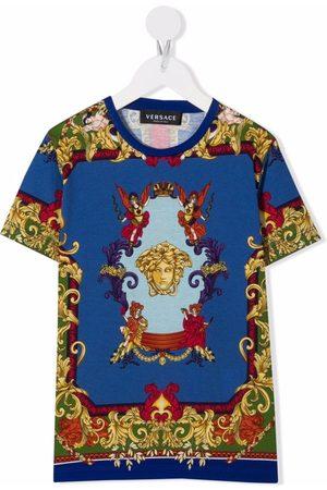 Versace Kids Medusa Renaissance print T-shirt