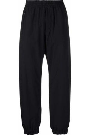 Moncler Men Straight Leg Pants - Zip-fastening compartment trousers