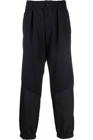 Moncler Grenoble Straight-leg wool trousers