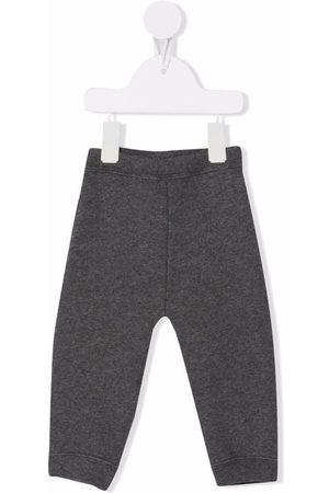 Bonpoint Straight-leg tracksuit bottoms - Grey