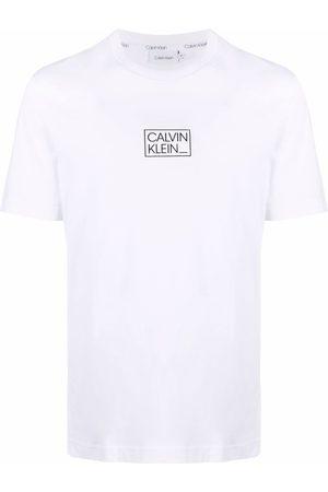 Calvin Klein Men Short Sleeve - Logo-print short-sleeved T-shirt