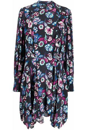 Isabel Marant Floral-print asymmetric dress