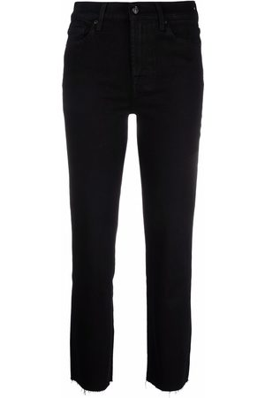 7 For All Mankind Women Flares - Raw-hem cropped jeans