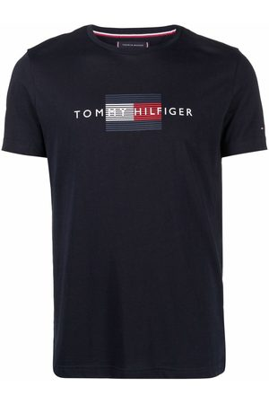 Tommy Hilfiger Logo-print short-sleeved T-shirt