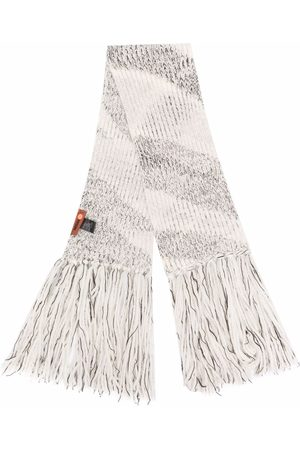 Missoni Knitted fringed scarf