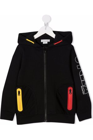 Stella McCartney Logo-print zipped hoodie