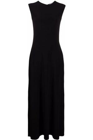 Atu Body Couture Sleeveless flared maxi dress