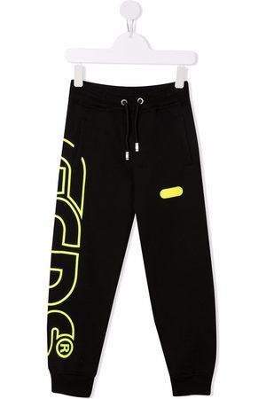 GCDS Boys Sweatpants - Logo-print track pants