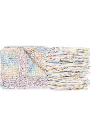 Missoni Women Scarves - Embroidered fringed scarf