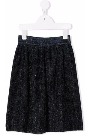 Molo Kids Girls Skirts - Belini glitter-detail midi skirt