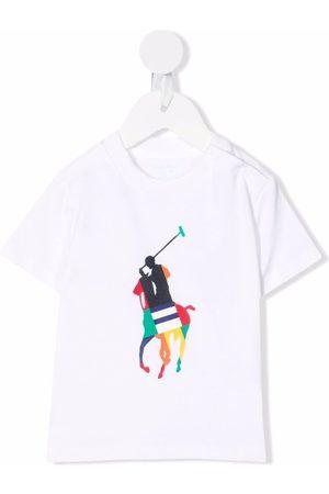 Ralph Lauren Polo Shirts - Colour-blocked Polo Pony T-shirt