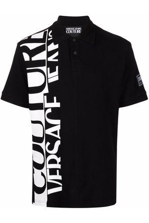 VERSACE Men Polo Shirts - Logo-print polo shirt