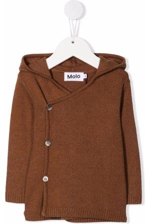 Molo Kids Off-centre button hoodie
