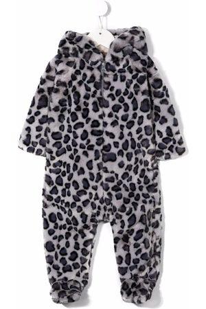 Molo Kids Pajamas - Leopard-print pajama - Grey