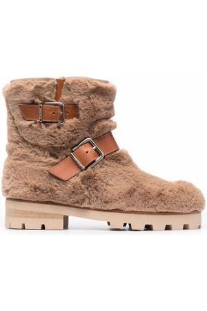 Jimmy Choo Youth II boots - Neutrals
