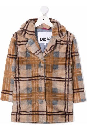 Molo Plaid-check pattern coat