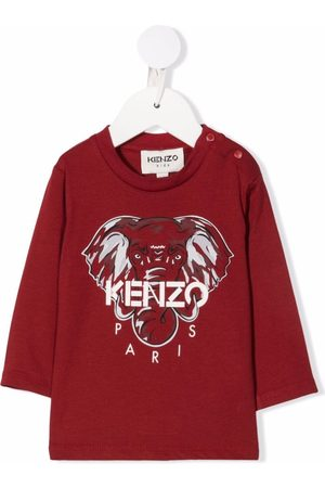 Kenzo Kids Logo long-sleeve top