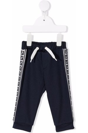 Fendi Kids FF-stripe trackpants
