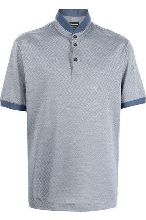 Giorgio Armani Stand-up collar polo shirt