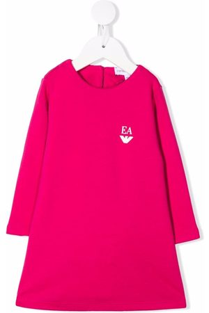 Emporio Armani Kids Logo print dress