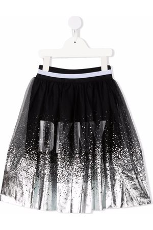 DKNY Girls Skirts - Metallic logo tutu