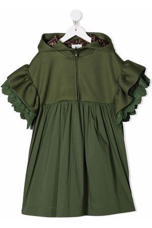 Fendi Hooded mid-length dress