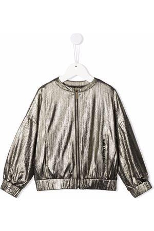 Karl Lagerfeld Rue St-Guillaume logo bomber jacket