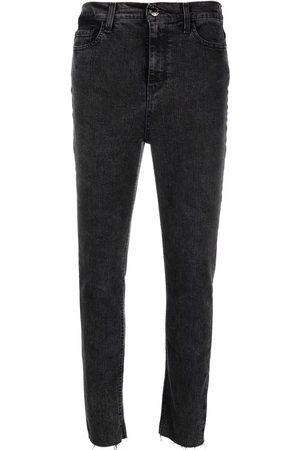 Pinko Bird-embroidered skinny jeans