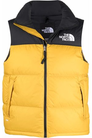 The North Face Men Gilets - Logo-embroidered padded gilet