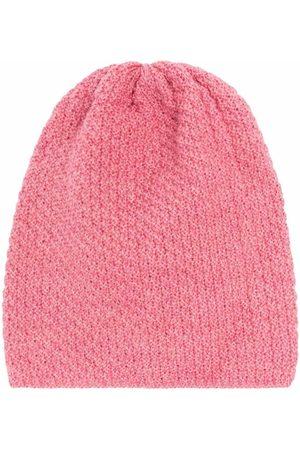 LITTLE BEAR Chunky-knit virgin wool beanie