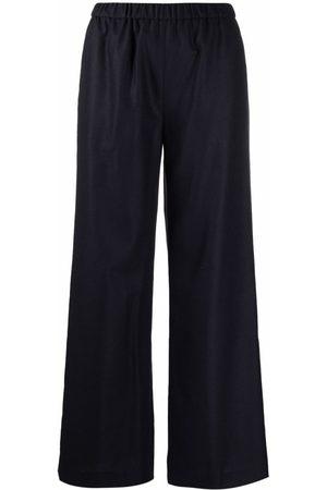 Aspesi High-waisted flared trousers