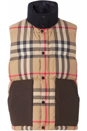 Burberry Vintage Check padded gilet - Neutrals
