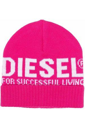 Diesel Knitted beanie hat