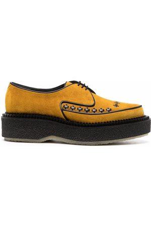 ADIEU PARIS Type 101 suede lace-up shoes