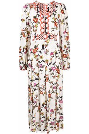 Diane von Furstenberg Anjali floral-print midi dress