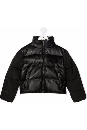 Stella McCartney Fringe-trimmed puffer jacket