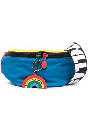 Stella McCartney Colour-block recycled belt bag