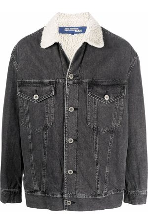 Junya Watanabe MAN Contrast collar denim jacket