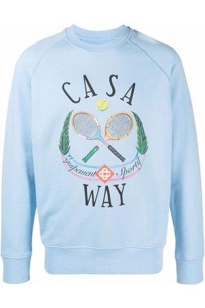Casablanca Casaway Tennis sweatshirt