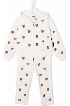 Moschino Kids Teddy Bear print tracksuit