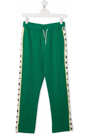 Marni Kids Logo track trousers