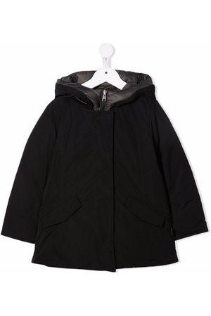 Woolrich Kids Hooded zipped coat