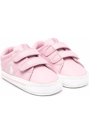Polo Ralph Lauren Kids Polo Pony touch-strap sneakers