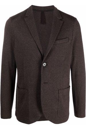 Harris Wharf London Check pattern blazer