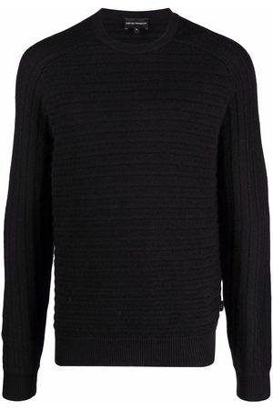 Emporio Armani Ribbed-knit jumper