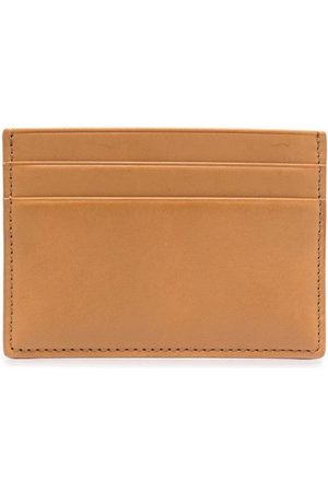 Common Projects Logo-stamp cardholder - Neutrals