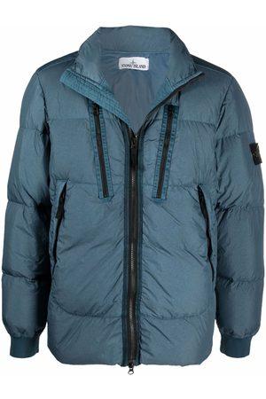 Stone Island Compass patch puffer jacket