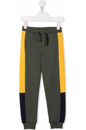 North Sails Colour-block cotton track pants