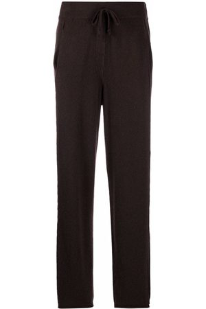 KRISTENSEN DU NORD Straight-leg cashmere trousers